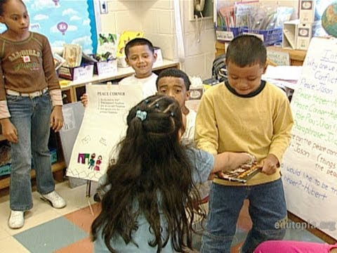 Peace Helpers Become Classroom Problem Solvers