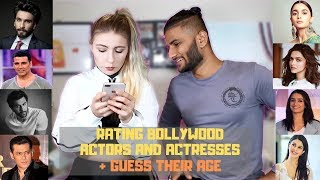 My American Girlfriend Rates Bollywood Actors and Actresses Guess Their Age