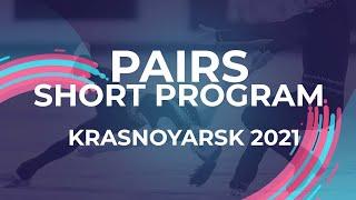 LIVE Pairs Short Program Krasnoyarsk 2021 JGPFigure