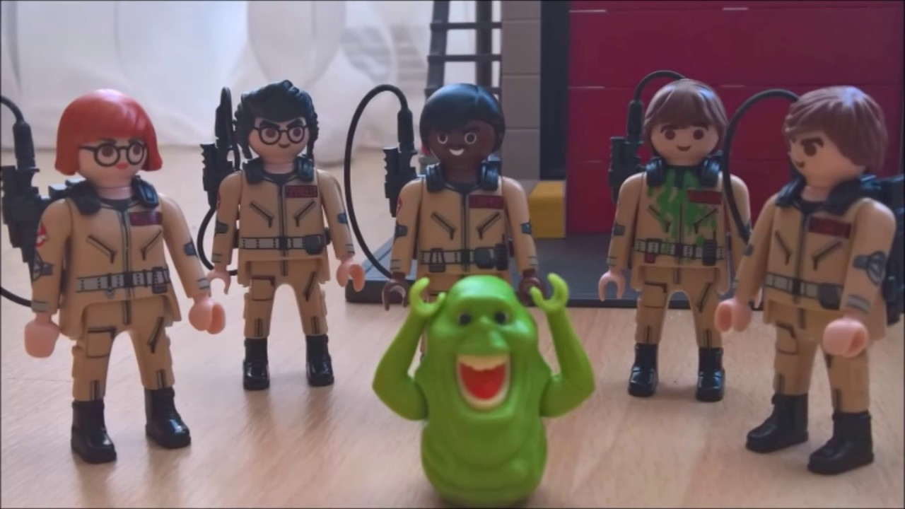 Cleaning Up The Flip City: A Ghostbusters Playmobil Movie - YouTube