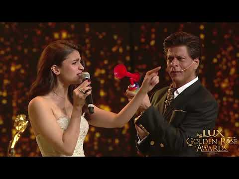 Lux Golden Rose Awards: Shah Rukh Khan and Alia Bhatt game of unstoppable Mp3