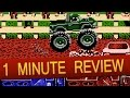 NES - Bigfoot & Monster Truck Rally (1 Minute Review)