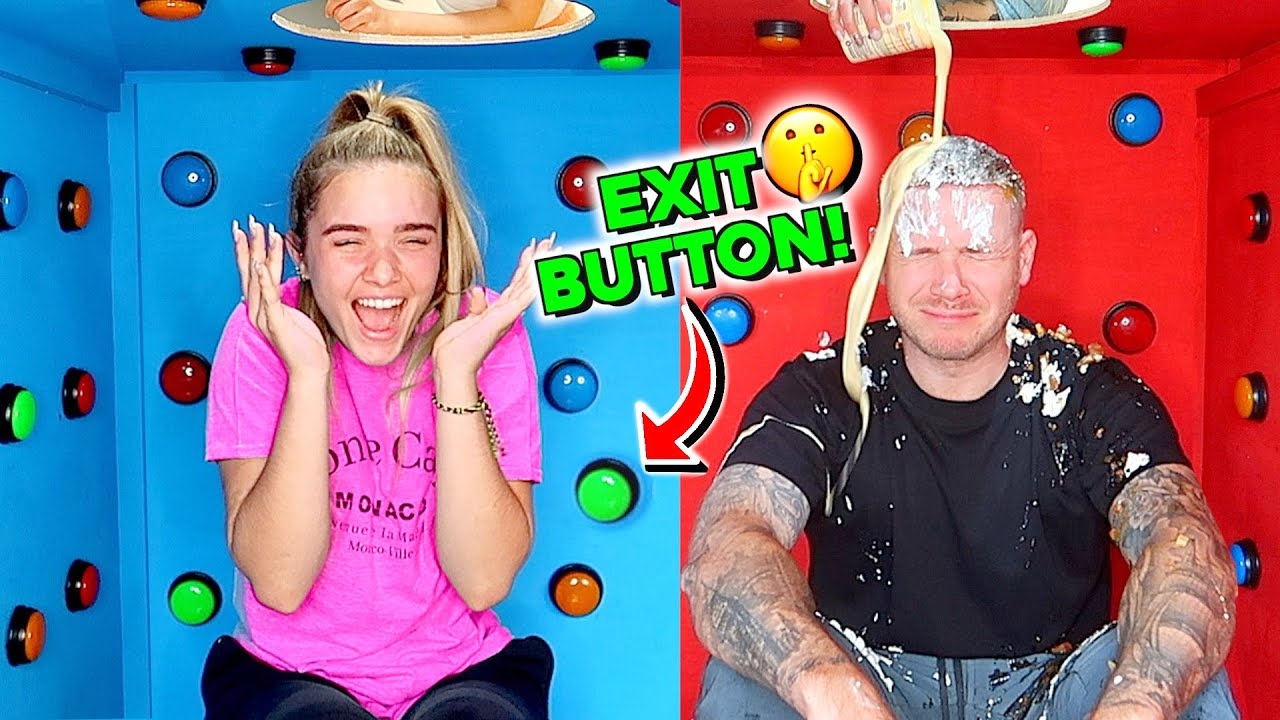100 Buttons but ONLY ONE let's you ESCAPE the BOX!