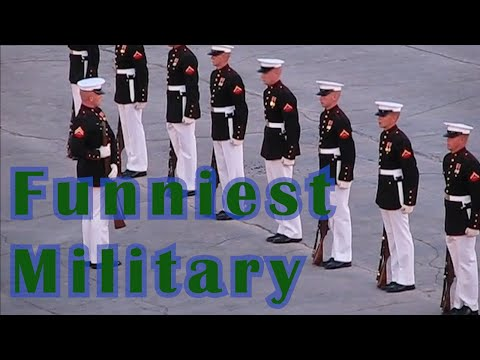 Funniest Military Moments || Funny Videos