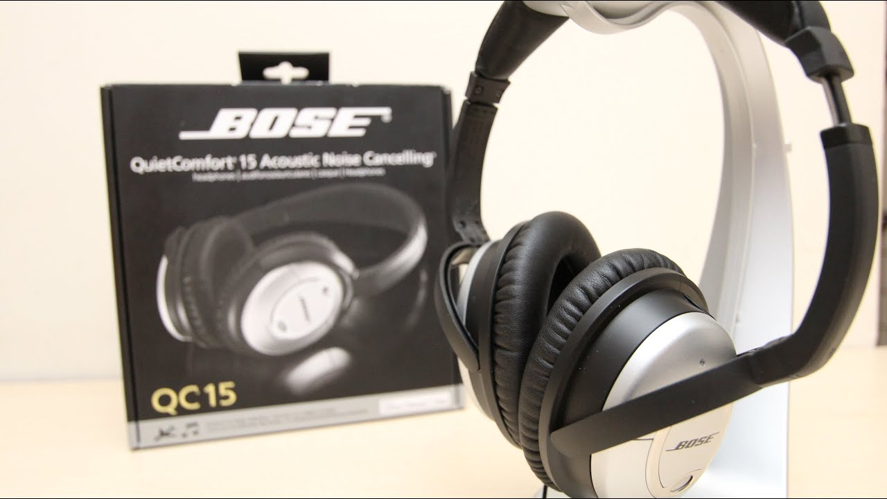 9990e374765 Bose QC15 Unboxing & First Look - YouTube