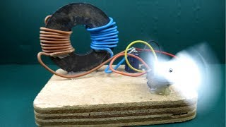 Free energy generator magnet Coil 100% with Fan - New Technology Project At Home
