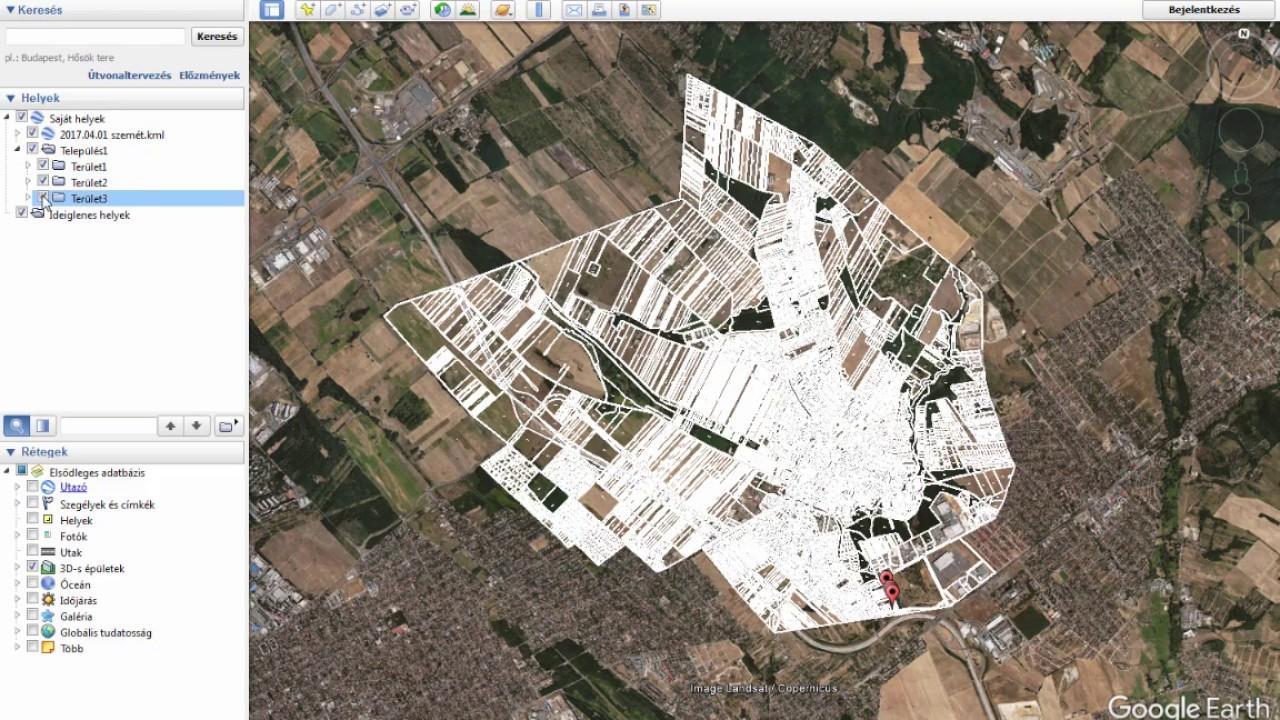 Helyrajzi Szam Azonositas Google Fold Programban Youtube