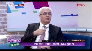 """Prof.Dr.Orhan ŞEN ÇukurovaTürk TV """"Burada Hayat Var"""" Programında """"BOYUN AĞRILARI"""" Konusunu Anlatıyor"""