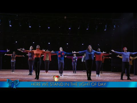 The Cast of Disney on Broadway Performs 'Let It Go' - The Disney Holiday Singalong