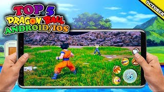 Top 5 New Dragon Ball Games in October 2018 (not Emulator) - Android/IOS