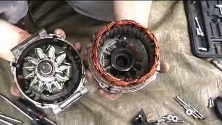 Alternator repair : Noisy Bearings replacement