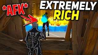 Extremely RICH Scammer Lags Out After This Happened! (Scammer Gets Scammed) Fortnite Save The World