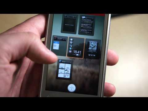 Видео HTC Rhyme