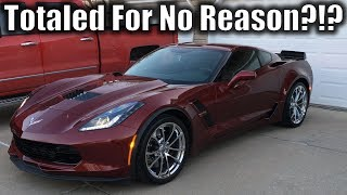 $80,000 Corvette Totaled Because of a 1-Inch Crack... HOW?