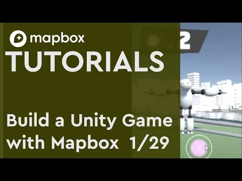 Build a Unity 3D game (1/29) Introduction to PocketDroids GO and the Mapbox  SDK for Unity