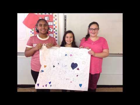 SEL Week: Ms. Hill's class from Bradley School in Derby, CT