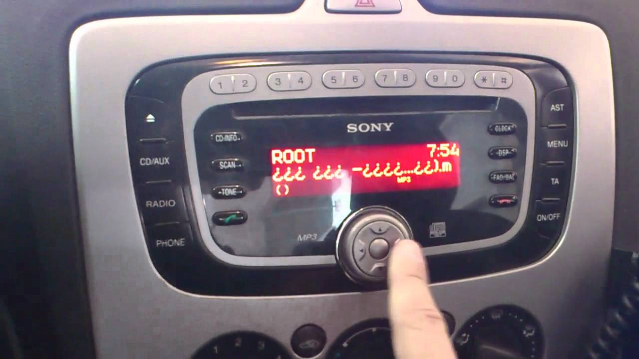 Sony car radio bluetooth manual 14