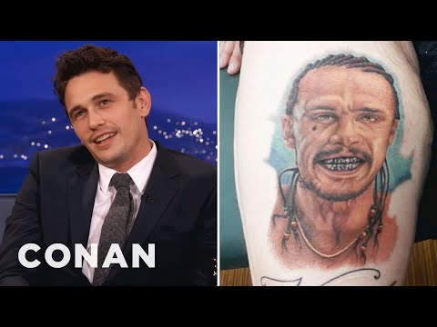Download Youtube: James Franco Is Freaked Out By Fan Tattoos