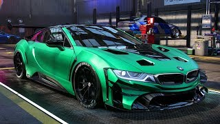 CRAZY BMW i8 BUILD - Need for Speed: Heat Part 33
