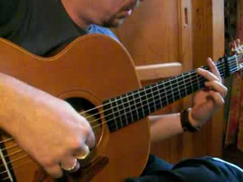 Down In The River To Pray Dadgad Fingerstyle Guitar Youtube