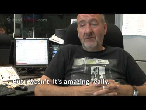 BBC 6Music DJ Marc Riley on shock of being made Doctor of Arts, Salford University
