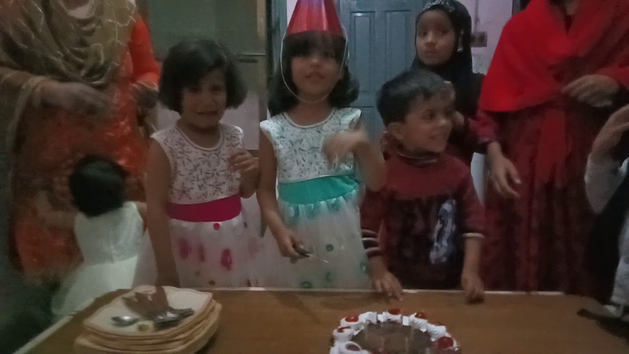 6th Birthday of Intish Noor