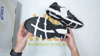 ASICS Gel-Excite 4 - Black /Silver - Unboxing | Walktall