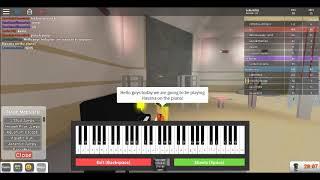 ROBLOX GOT TALENT! ¡TOCANDO EL PIANO! ROBLOX!