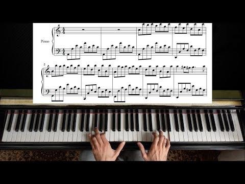 Passacaglia - Handel Halvorsen   Piano Tutorial