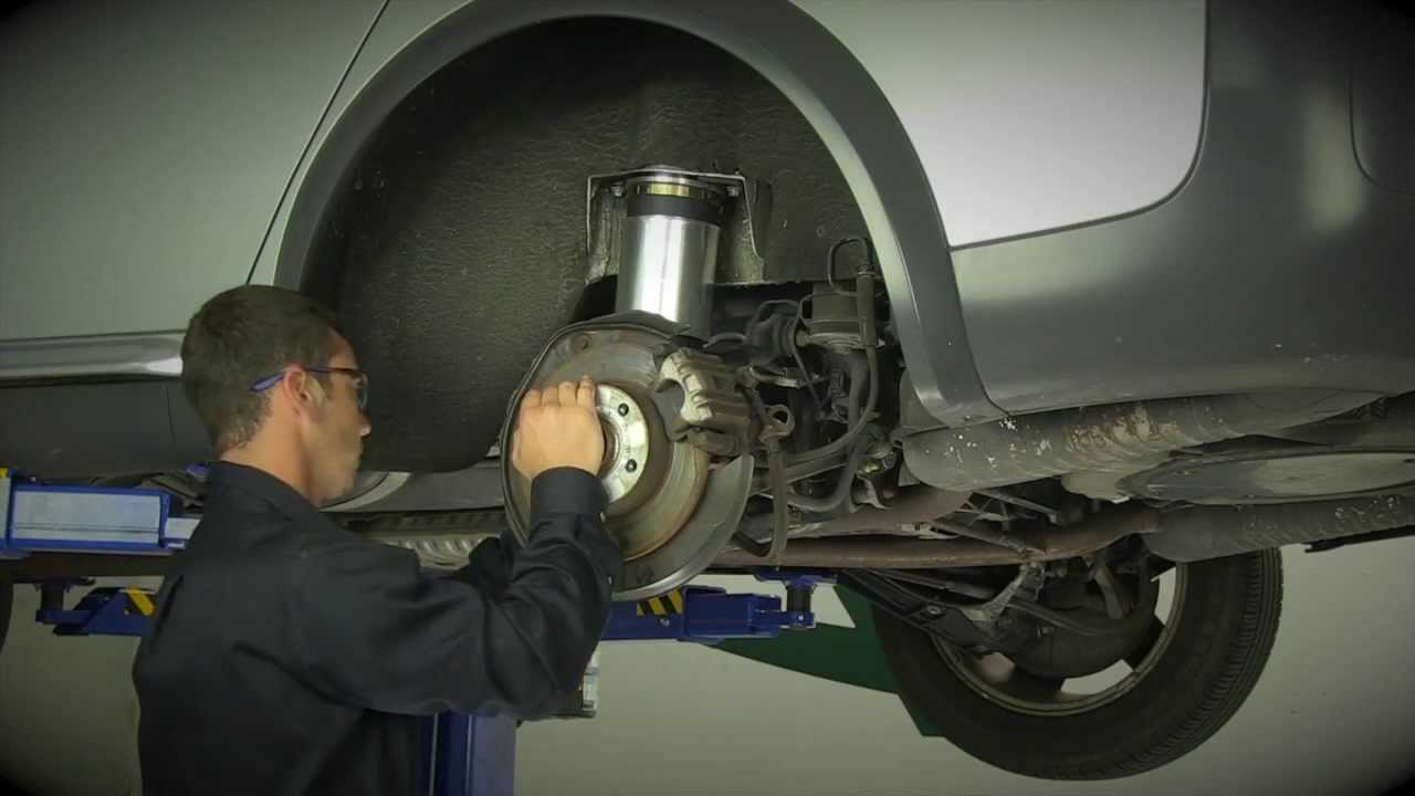Replacing The Rear Air Suspension On The 2000 2006 Audi