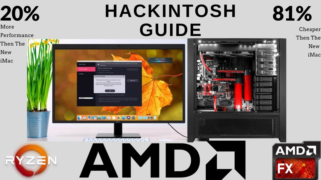 AMD Full Hackintosh Guide (Step by step) New! 2018