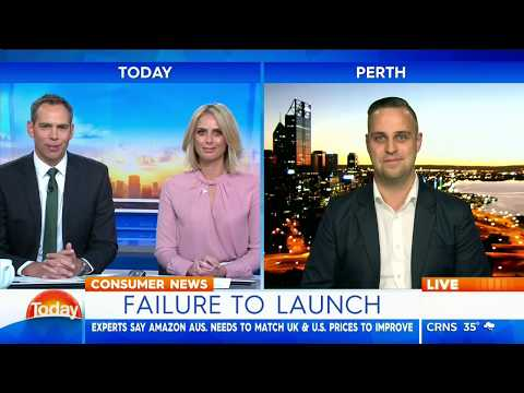 Amazon Australia One Month On - The Today Show