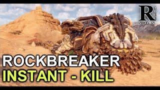 Horizon Zero Dawn - Rockbreaker Instant Kill Guide (Very Rare Modification Farm)