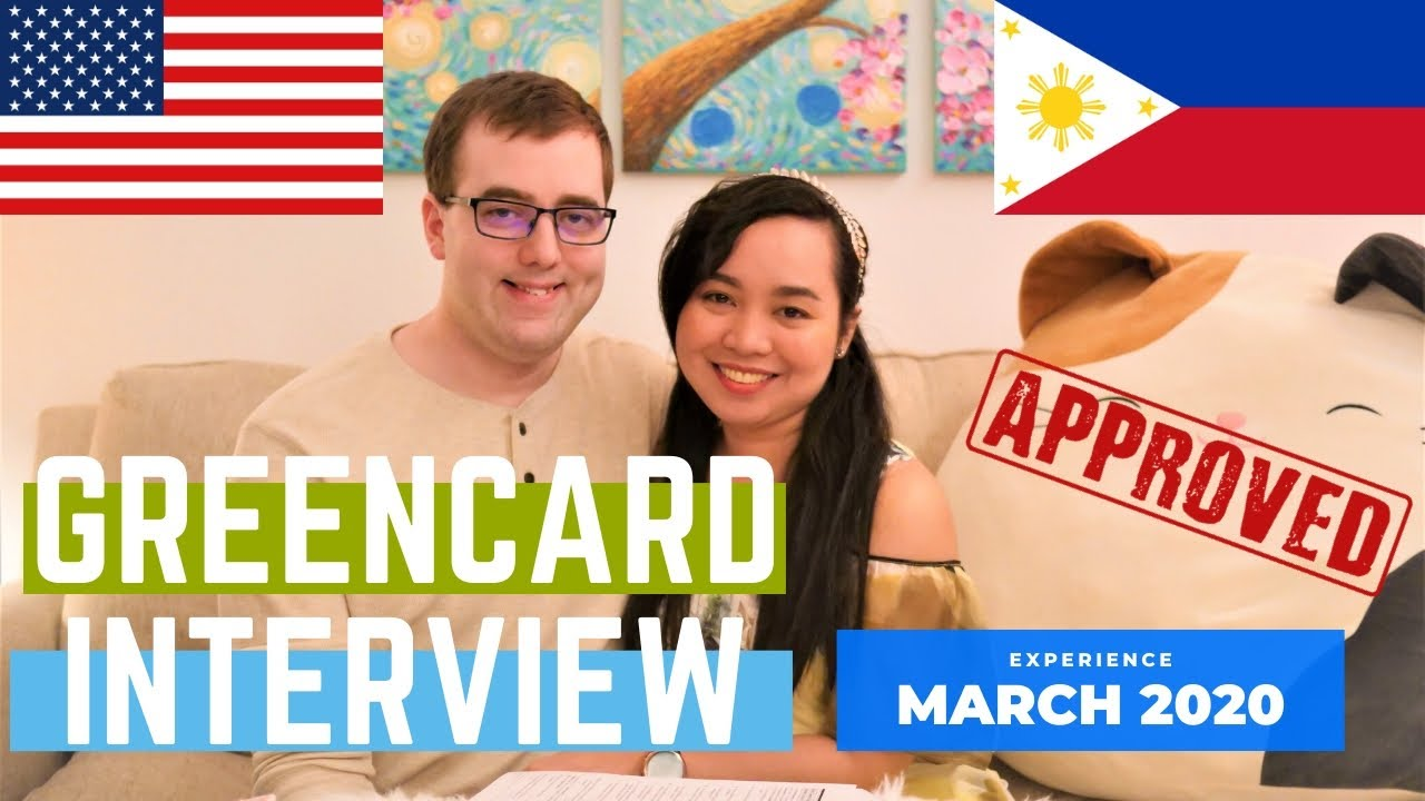 green card interview experience 2020 marriage based