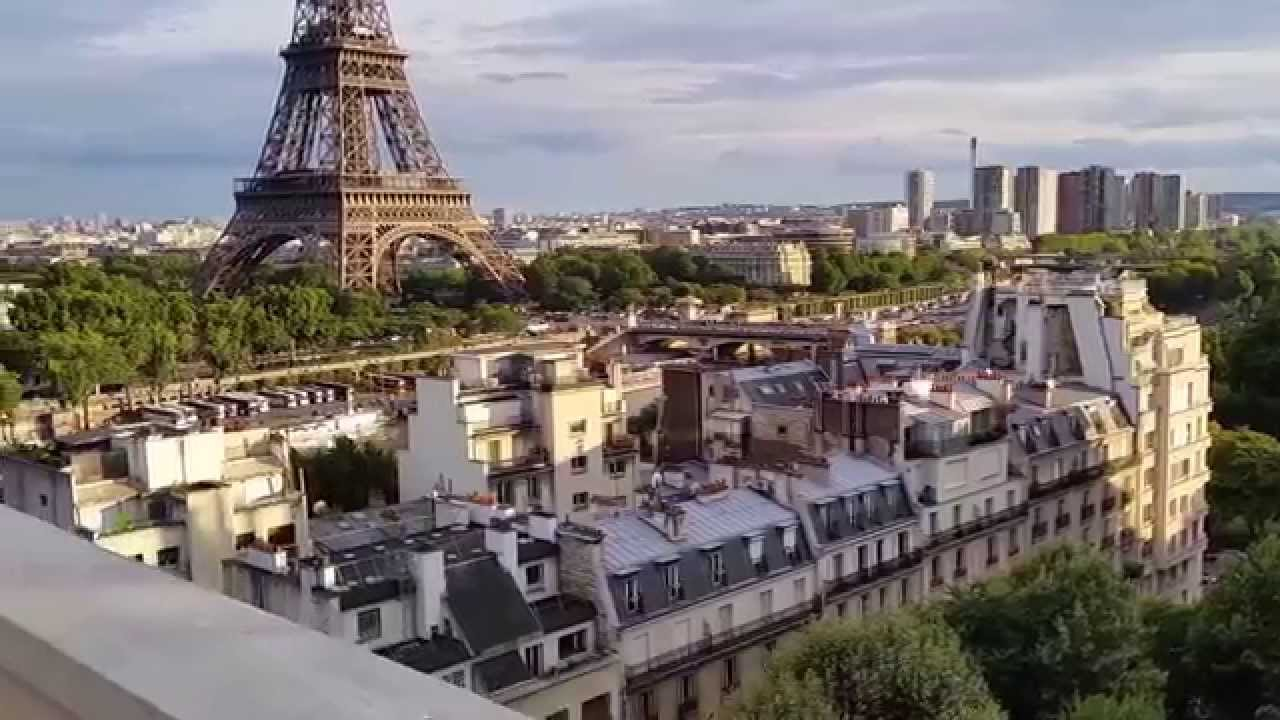 Eiffel tower terrace suite at shangri la paris youtube for Terrace eiffel tower view room shangri la