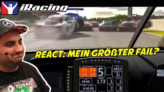 Dave reagiert auf iRacing Highlights: Fails & Wins im Februar 2020 #2