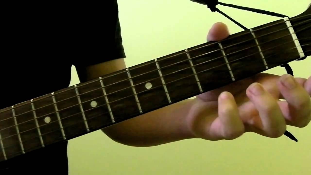 Gadd9 Guitar Chord Demonstration Youtube