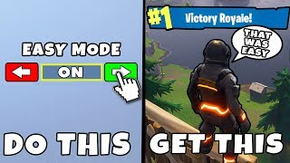 5 Easy Changes That Will Get You WINS in Fortnite - Fortnite Battle Royale Top 5