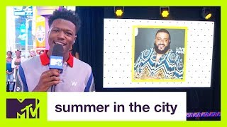 DJ Khaled On His 2017 VMA Nomination for 'Video of the Year' | Summer in the City | MTV
