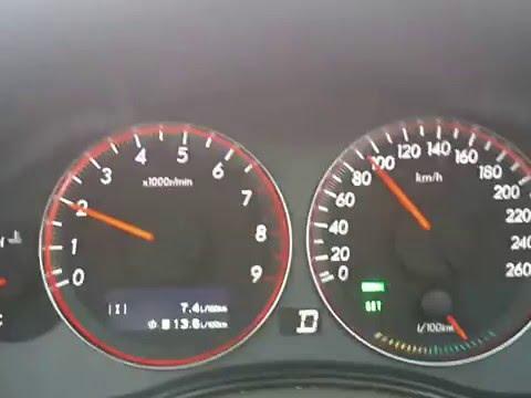 расход бензина на субару аутбек 3.0