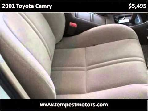 2001 toyota camry used cars akron oh youtube for Tempest motors in akron ohio