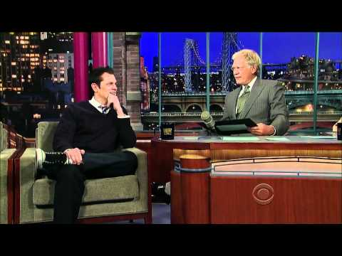 Johnny Knoxville On Letterman (10/7/10)