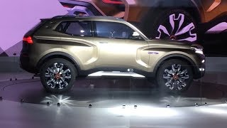 Lada 4x4 Vision — «Нива» будущего представили на ММАС 2018