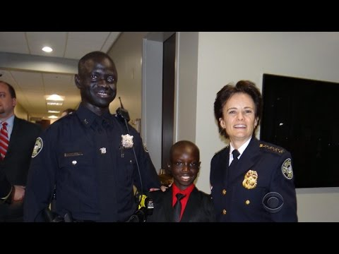 Sudanese Lost Boy fulfills dream to serve community that took him in
