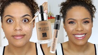 Catrice HD Liquid Coverage Foundation Review + Wear Test!