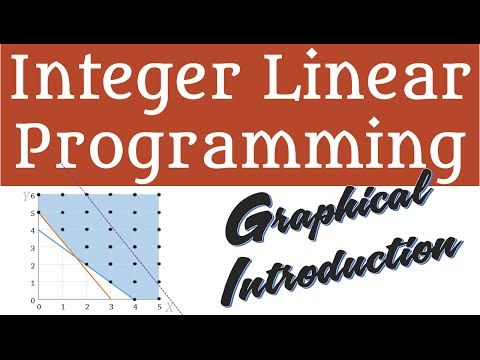 Integer Linear Programming - Graphical Method - Optimal Solution, Mixed, Rounding, Relaxation