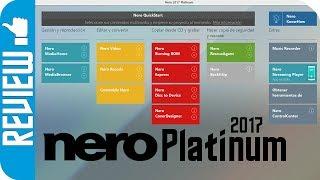 Repaso al nuevo Nero 2017 Platinum