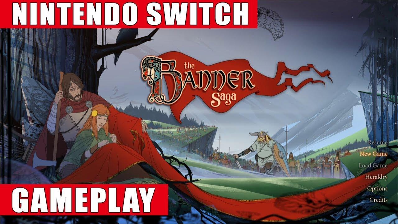 The Banner Saga Nintendo Switch Gameplay Youtube