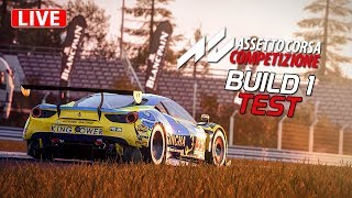 Build 1 - Assetto Corsa Competizione Gameplay [GER] [HD] Erster Eindruck - First Look