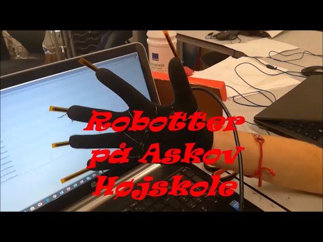 Robotter og VR på Askov Højskole